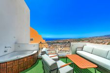 Apartment in Adeje - Ocean Views with Jacuzzi, Terrace & AC